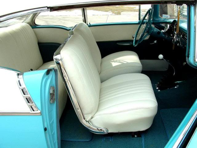 1955 1956 1957 Chevy Impala Super Sport Conversion Bucket