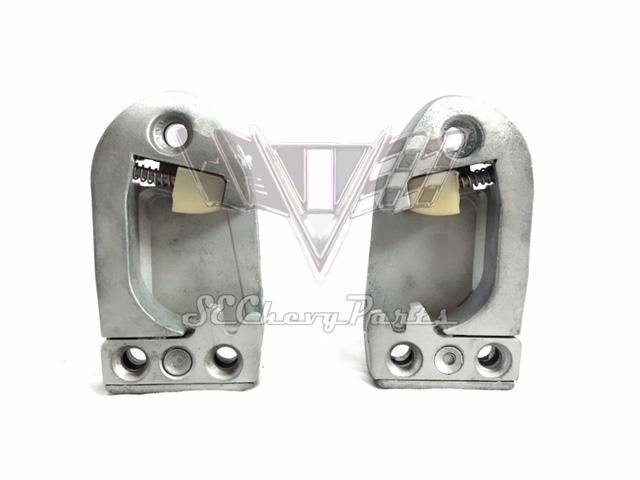... Door Striker Plates - Pair. Zoom  sc 1 st  Southeast Chevy Parts & 1958-1959-1960-1961-1962 Chevy Hardtop/Sedan Door Striker Plates ...