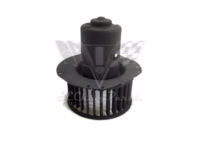 1959 1960 chevy impala oem heater deluxe fan motor with for Squirrel cage fan motor