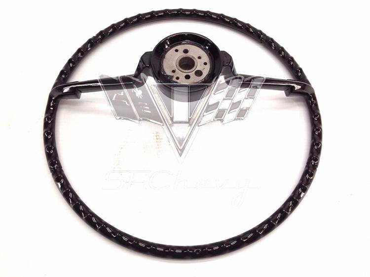 1965 chevy impala restored steering wheel