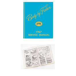 1967 chevy passenger car fisher body service manual Fisher Body Plant Fisher Body Plant