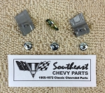 1960 Chevy Bel Air 2/4 Door Quarter Side Trim  Bird  Molding Clip Set