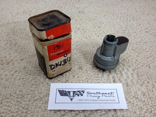 1960 Chevrolet Impala Biscayne Bel Air Nos Delco Ignition Switch