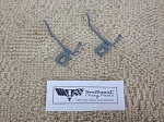 1963-1964 Chevy Original Windshield Washer Spray Nozzles, Pair - RESTORED