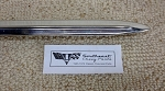 1964 Chevy Bel Air 4 Door Rear Quarter Molding, RIGHT - NOS