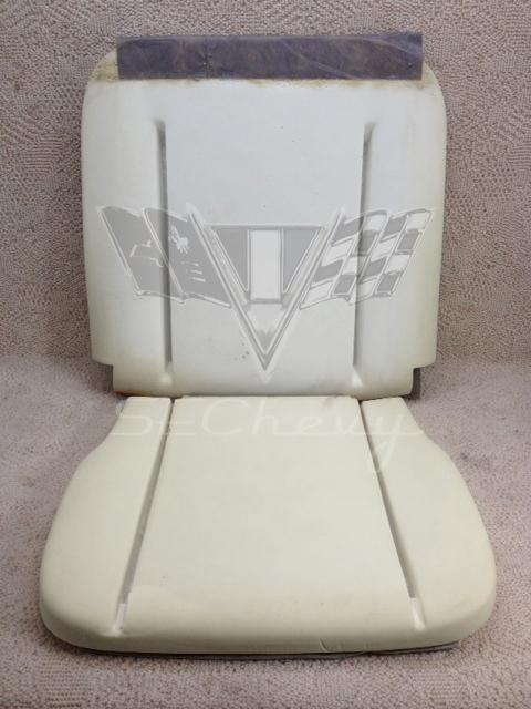 1965 Chevy Impala Ss Bucket Seat Cushion Foam Buns