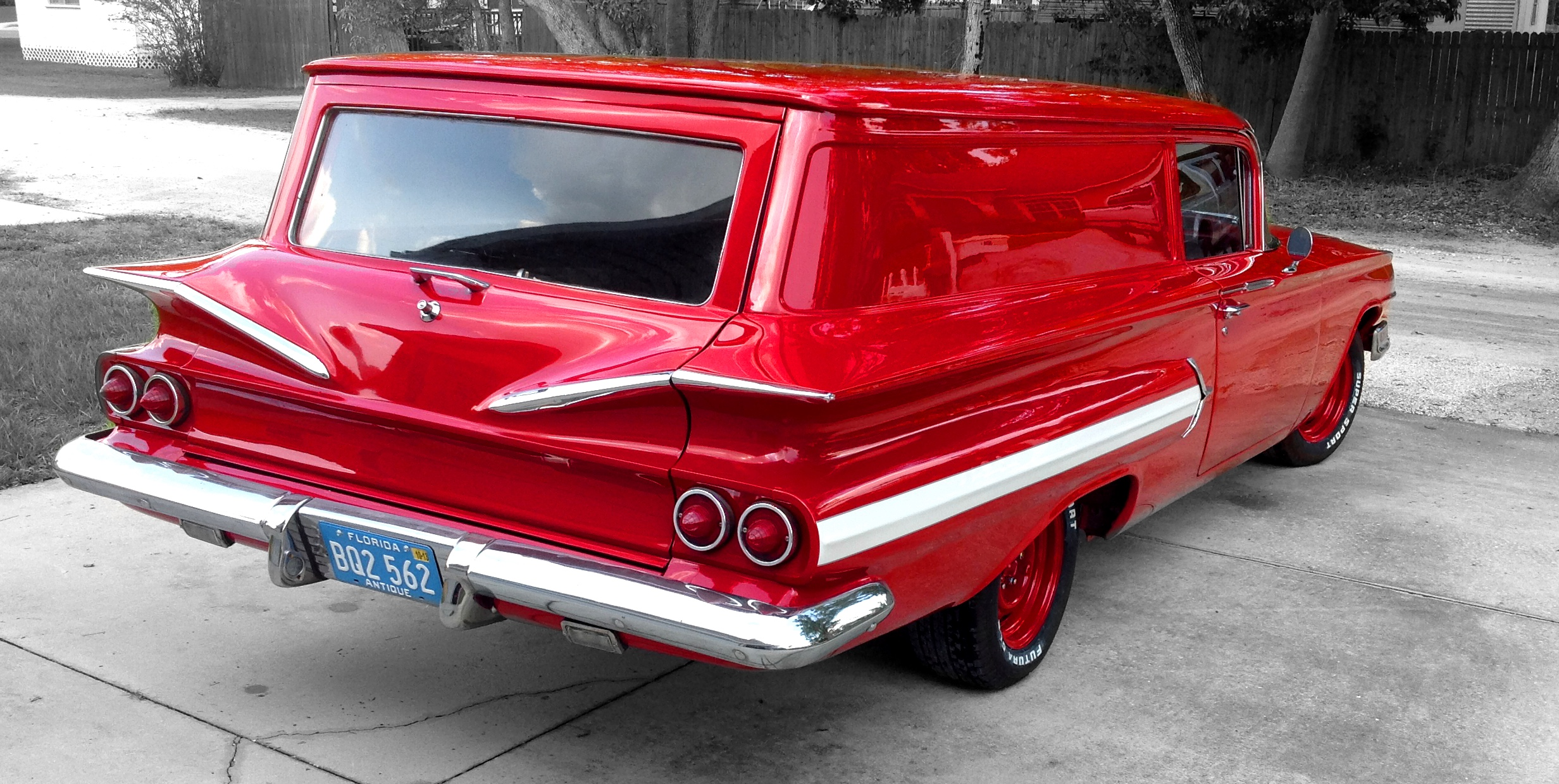 Craigslist 1960 Chevy Delivery   Autos Post