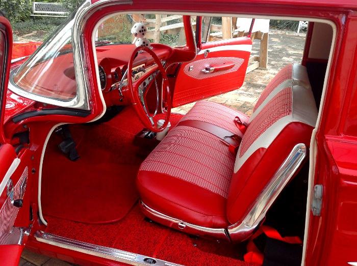 Gerry S Roman Red 1960 Sedan Delivery