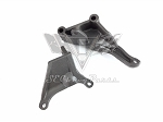 1967-1974 Chevy Corvette 427 454 Air Conditioning Compressor Front & Rear Support Bracket Set OEM #3894364 #3894362
