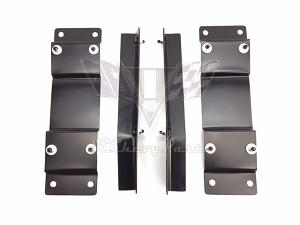 1955-1957 Chevy Impala Super Sport Conversion Bucket Seat Floor Brackets
