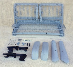 1955 1956 Chevy 2 Door Bench Seat Tracks And Shells
