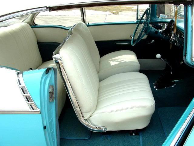 1955 1956 1957 Chevy Impala Super Sport Conversion Bucket