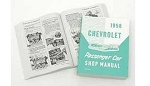 1958 Chevy Passenger Car Shop Manual