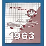 1963 Chevy Passenger Car Assembly Manual
