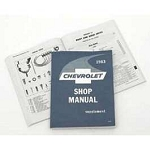 1963 Chevy Passenger Car Shop Manual Supplement
