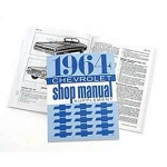 1964 Chevy Passenger Car Shop Manual Supplement