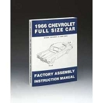 1966 Chevy Passenger Car Assembly Manual
