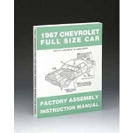 1967 Chevy Passenger Car Assembly Manual