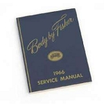 1966 Chevy Passenger Car Fisher Body Service Manual