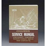 1970 Chevy Passenger Car Chassis Service Manual