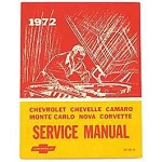 1972 Chevy Passenger Car Chassis Service Manual