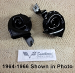 1968 Chevy Original Hi/Lo Horns, Pair   REMANUFACTURED