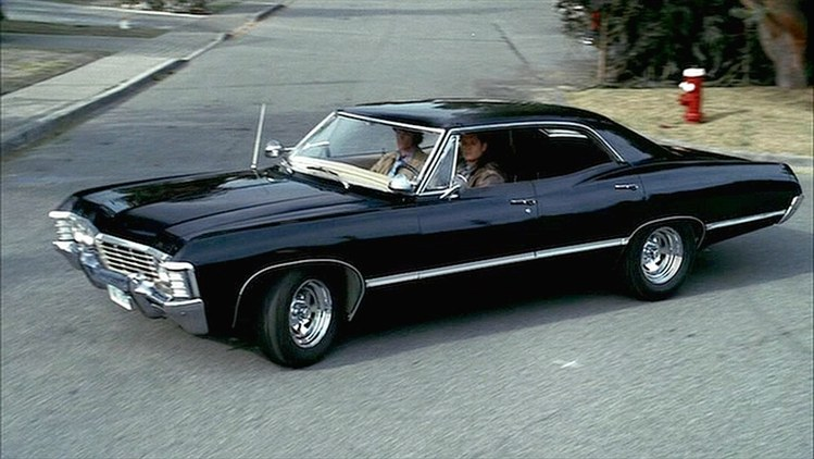 Black Chevy Impala