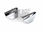 1959 Chevy Impala Rear non-Wagon Bumper Guards OEM PAIR SHOW