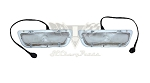 1960 Chevy Parking Light Assemblies OEM Pair RESTORED