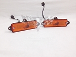 1965 Chevy Impala OEM Parking Light Housing Assemblies, Pair RESTORED