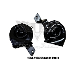 1967 Chevy Original Hi/Lo Horns, Pair REMANUFACTURED
