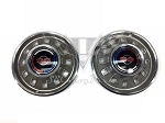 1967 Chevy NOS Impala SS Hubcaps PAIR