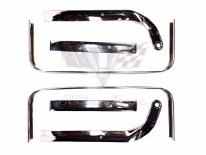 1962-1964 Chevy Impala Super Sport OEM Bucket Seat Chrome CORES