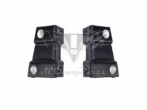 1955-1956 Chevy Inner Fender Support To Firewall Cowl Brackets OER PAIR