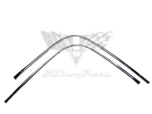 1955-57 Chevy Original Convertible Pinchweld Moldings- RESTORED
