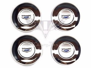 1955 Chevy Bel Air Accessory Wire Wheel Cover Center Caps SHOW