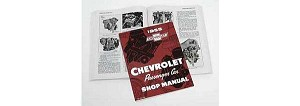 1955 Chevy Passenger Car Shop Manual