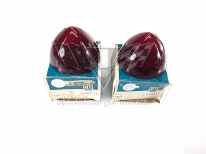 1956 Chevy NOS Taillight Lens Guide Glo-Bright PAIR #5947161