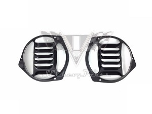 1957 Chevy Fresh Air Vent Grille PAIR OEM RESTORED