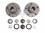 1955-1968 Chevy OEM Tapered Bearing Hub Conversion Kit  RESTORED