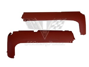 1961 Chevy RIGHT Rear Valance Panel, Impala, Bel Air - USED