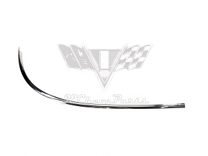 1961-1962 Chevy Hardtop Sedan Lower Windshield Molding RIGHT SHOW