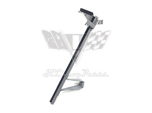 1961-1964 Chevy Impala 2-Door Hardtop Rear Lower Door Vertical Window Channel, LEFT - RESTORED