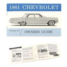 1961 Chevy Full Size Owner's Manual