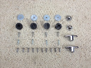 1962-1964 Chevy Impala Super Sport Bucket Seat Hardware
