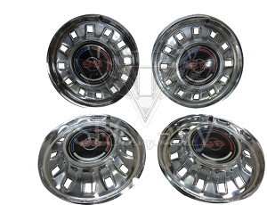 1967 Chevy Impala SS Hubcaps, Set - USED