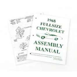 1968 Chevy Passenger Car Assembly Manual
