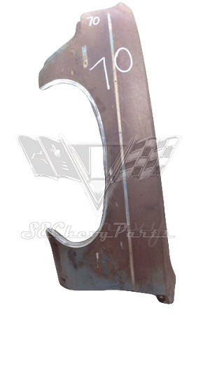 1970 Chevy Impala LEFT Front Fender - USED