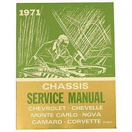 1971 Chevy Passenger Car Chassis Service Manual