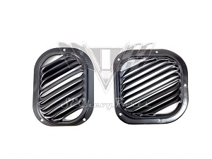 1955-1956 Chevy Fresh Air Vent Grille PAIR OEM RESTORED